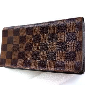 Auth LOUIS VUITTON Porte Yen Valeurs Long Walllet